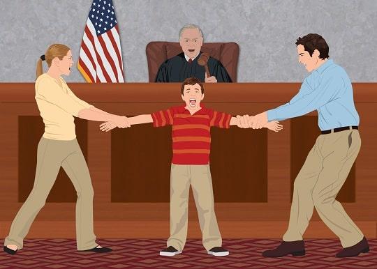 Obtain a child custody